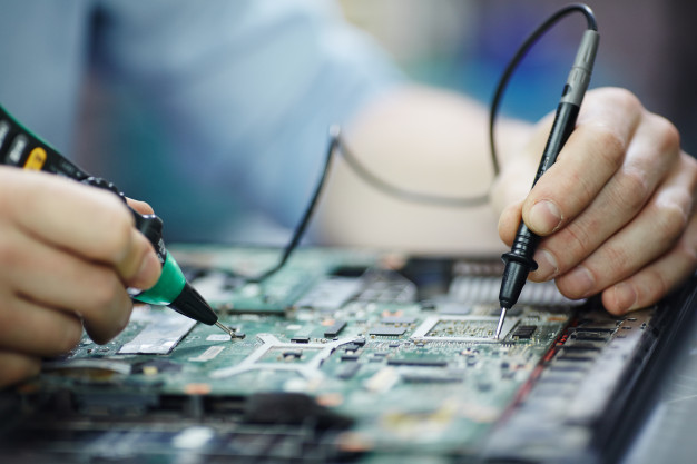 Checking Current Laptop Circuit Board 1098 13759